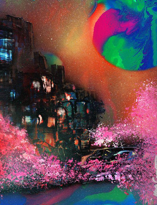 Cherry Blossom Planet - Michael Cicirelli