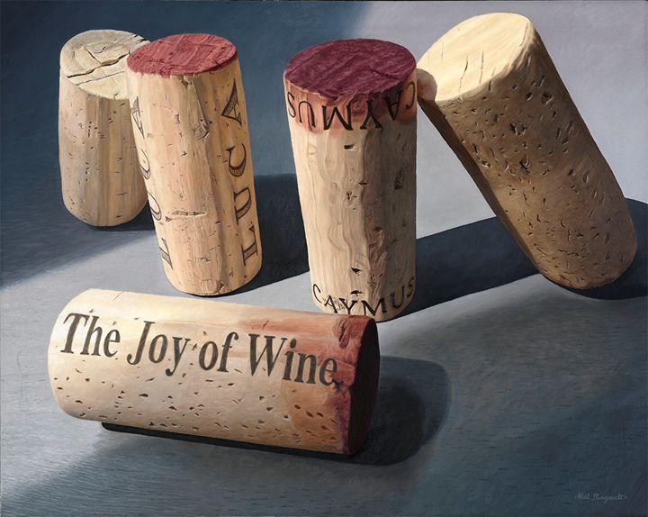 5 corks, joy of wine - neilburgardt