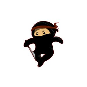 Little Ninja (white)