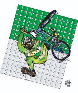 Eddie Fiola - in Green