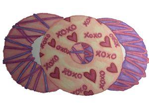 Valentines donut