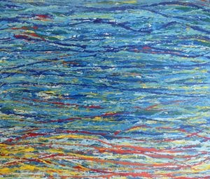 String Series: Ocean Sunset