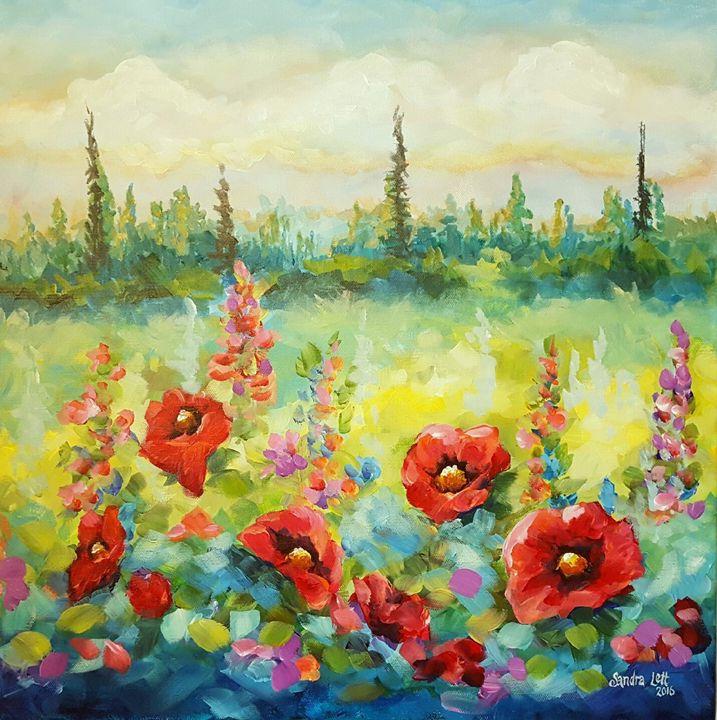 Poppies - Sandra Lett