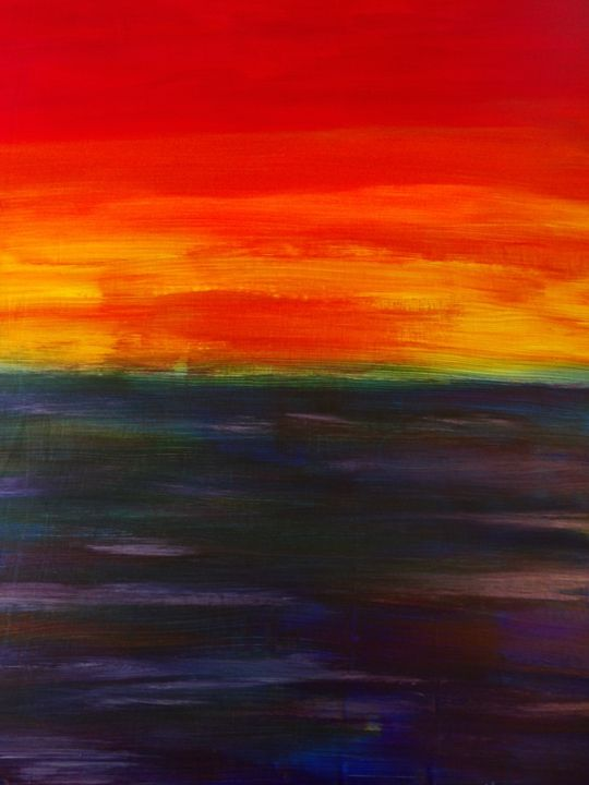 Sunset P1 - Tiny Acorn Arts
