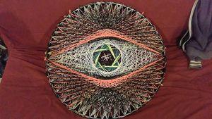 Deveye, Original string art - Net of Indra
