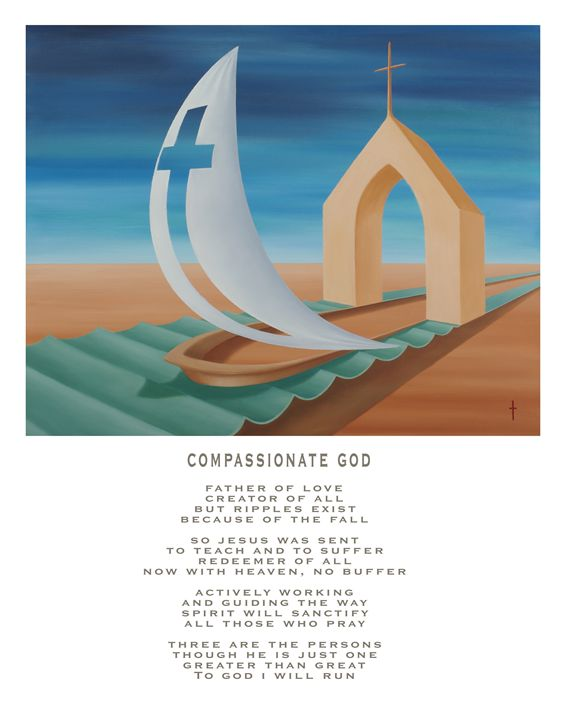 Compassionate God - with poetry - Eddie Vendetti