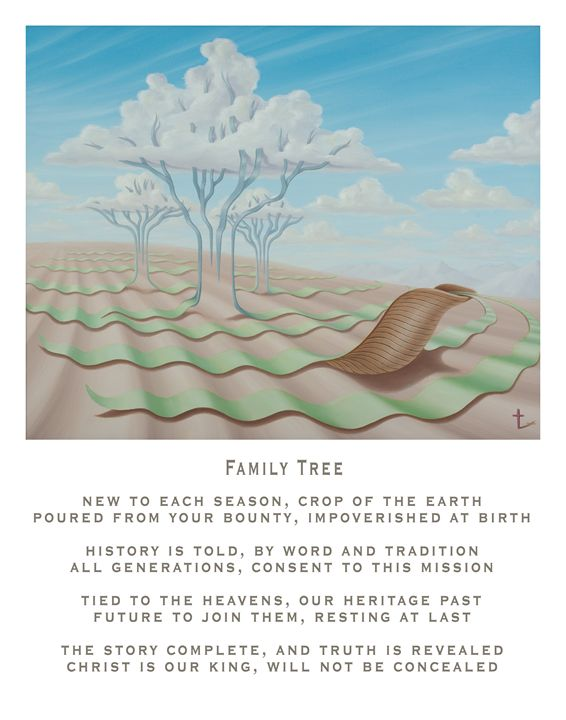 Family Tree - with poetry - Eddie Vendetti