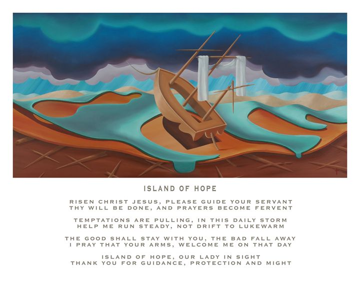 Island of Hope - with poetry - Eddie Vendetti