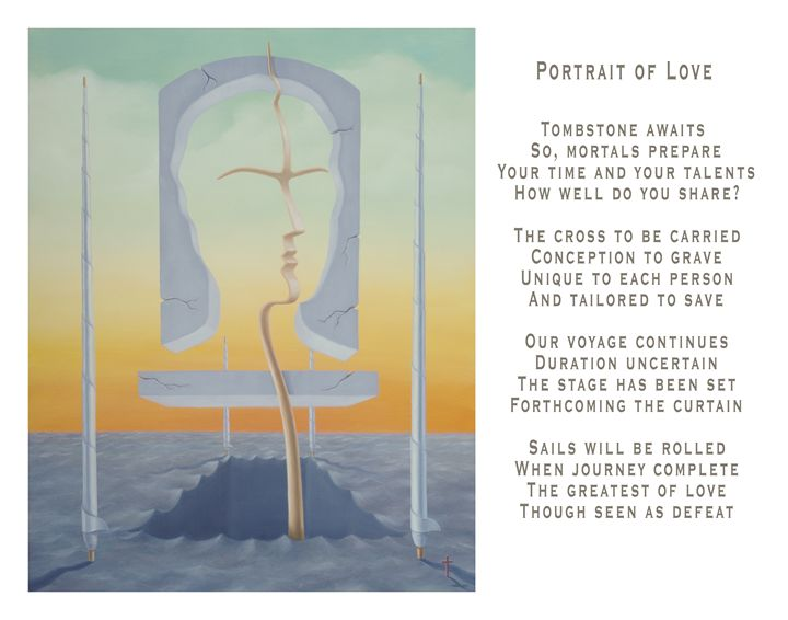 Portrait of Love - with poetry - Eddie Vendetti