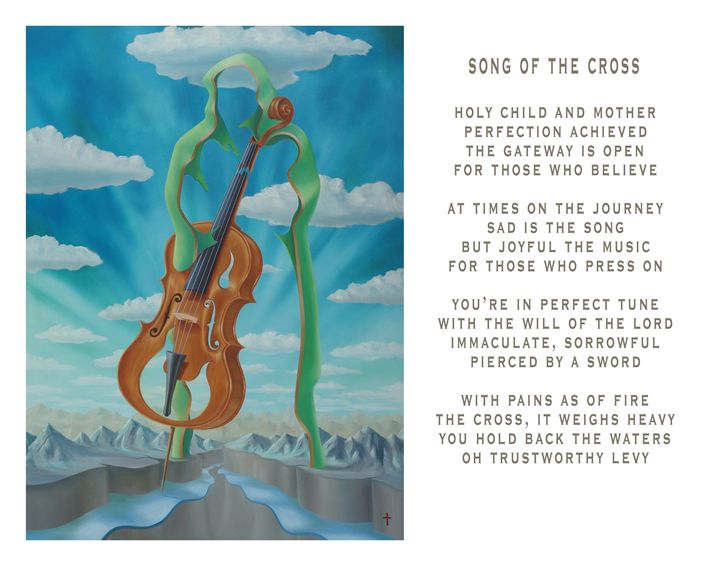 Song of the Cross - with poetry - Eddie Vendetti