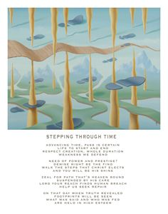 Stepping Through Time - with poetry