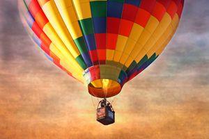 Hot Air Balloon - Old Farmhouse Creations