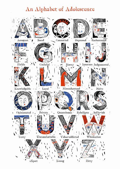 An Alphabet of Adolescence - Karen Stanton Gallery