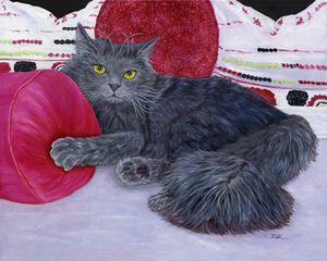Waiting For You - Art by Karen Zuk Rosenblatt