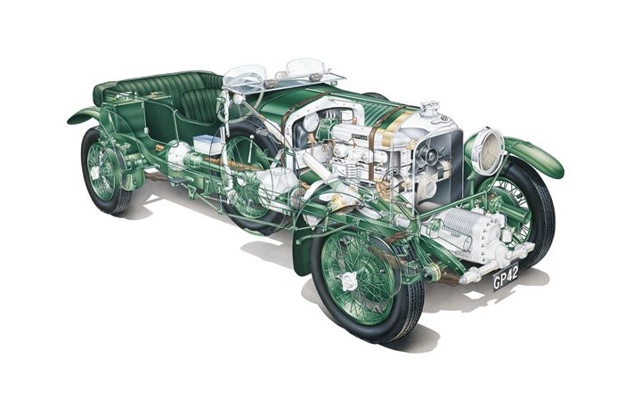 Bentley Blower Cutaway Airbrush - Matthew Jennings