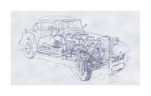 MG-TD open 2 seater
