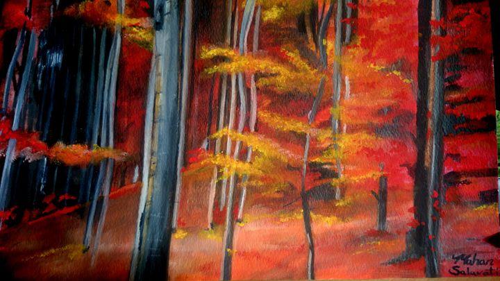 Fiery Woods - Mahan Salavati