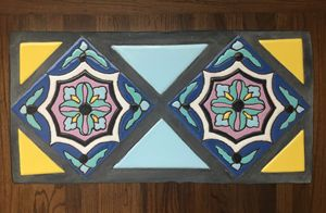 Tile Top Table #6