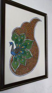 Intricate peacock