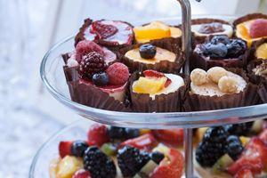 """Dessert tray"""