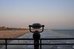 """""""Santa Monica beach"""""""