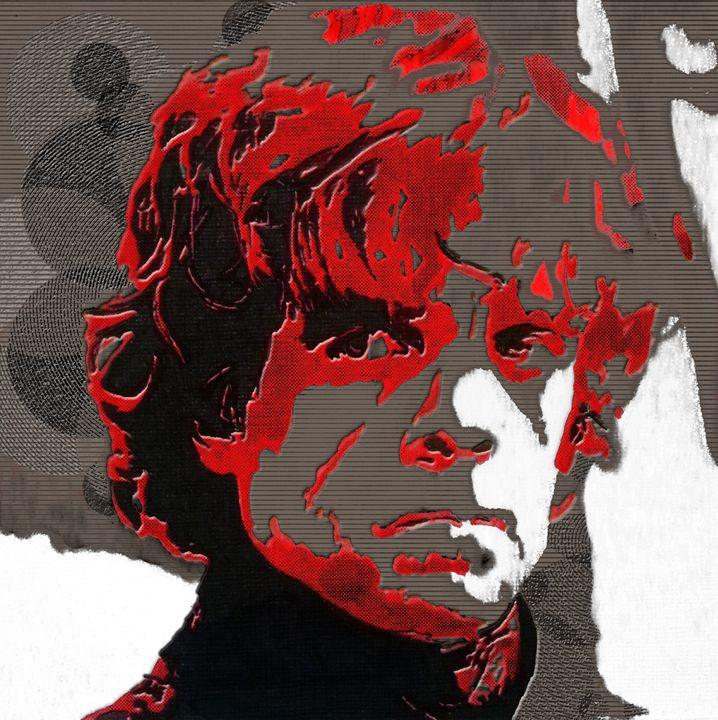 Tyrion Lannister Digital Portrait - Matt Skinner Art