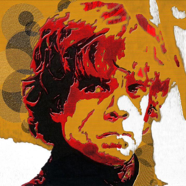 Tyrion Lannister Abstract Portrait - Matt Skinner Art