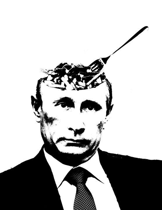 """Vladimir """"Poutine"""" - Matt Skinner Art"""