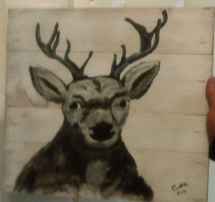 Deer head - Crystal huss