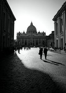 Street life in Rome, Italy