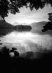 St. Wolfgang lake, Salzburg, Austria