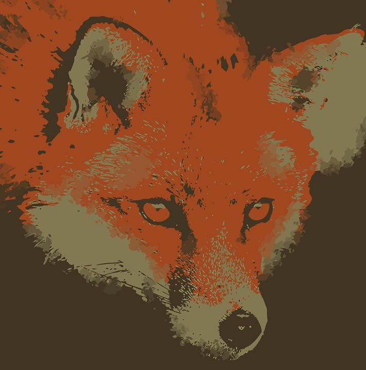 """ The Fox "" - ( Joe Digital & Co ) art.likesyou.org"