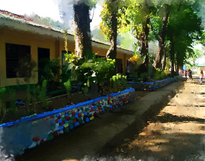 """"""" School """" - ( Joe Digital & Co ) art.likesyou.org"""