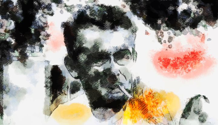 """ James Dean "" - ( Joe Digital & Co ) art.likesyou.org"