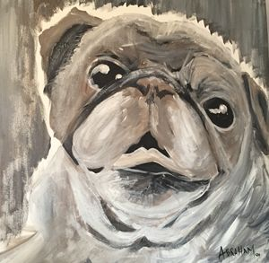 Pug - Originals by Abraham