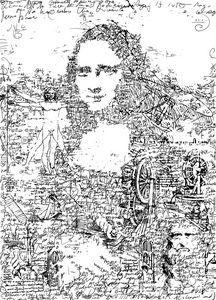 Da Vinci's thought illustration