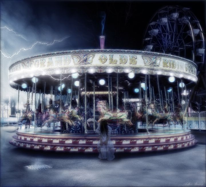 Samara Goes to the Fair - Art by Arthur Ramsey