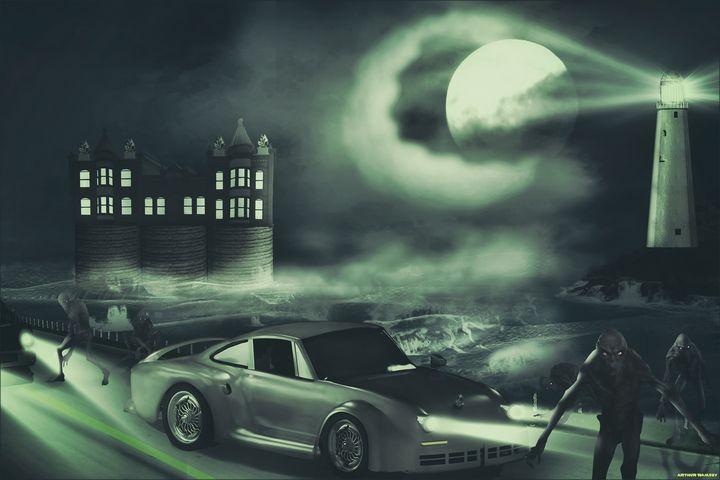 The Legend of Carthur Cars - Art by Arthur Ramsey