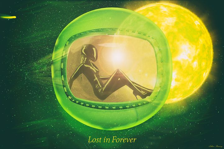 Lost in Forever 2 - Art by Arthur Ramsey