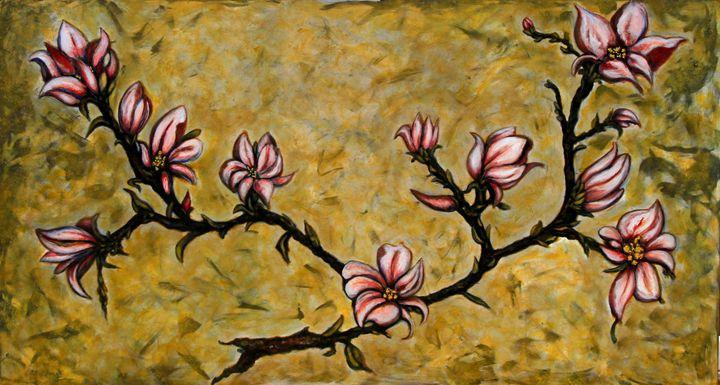 Magnolia - Art by Rae Chichilnitsky