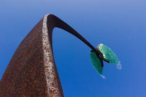 Venus flytrap sculpture