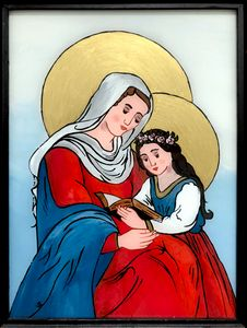 Mutter Gottes und Kind