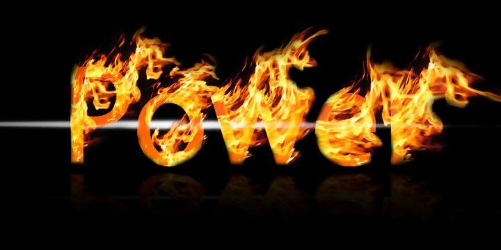 Flaming Power - Joshua C Kurz