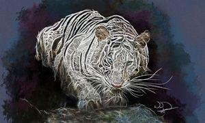 Tiger Abstracto