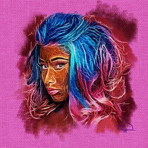 Nicki Minaj Abstracto