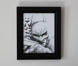 Dark Knight Original Drawing