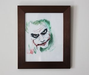 Da Joker Original Drawing