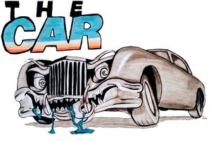 The car movie drawing