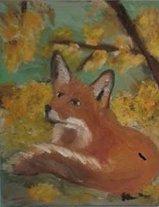 Red Fox in the Fall