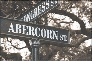 Abercorn & Congress St, Savannah GA - Gypsy Light Photography